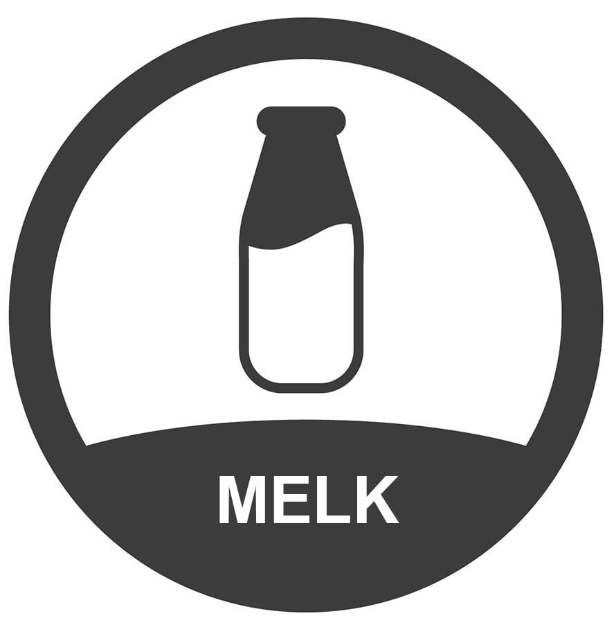 bevat-melk-sticker