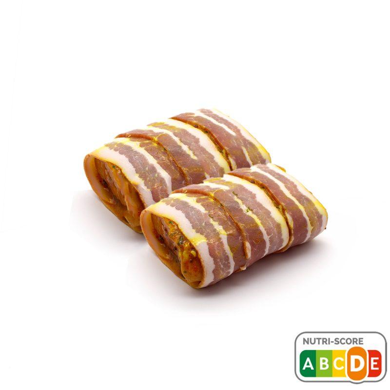 varkenshaas met ontbijtspek